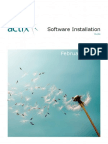 Actix Software Installation Guide February 2010
