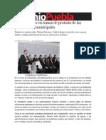 15-02-2014 Sexenio Puebla - Sin incidentes en tomas de protesta de las presidencias municipales.pdf