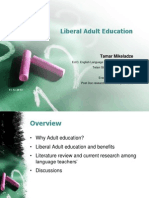 Lecture-liberal Adult Education