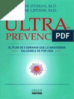 Ultra Prevencion, Mark Hyman, Mark Liponis Final A5