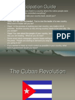 Castro and the Cuban Revolution Presentation Hand Out Summarize r