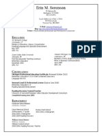 sorenson resume 2014