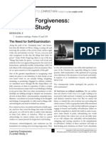 Learning Forgiveness Handout Session 2