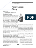 Learning Forgiveness Handout Session 5