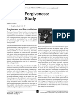 Learning Forgiveness Handout Session 6