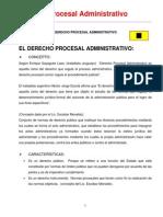 1. Derecho Procesal Administrativo Completo 1