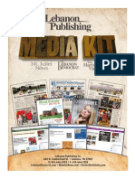 Lebanon Publishing Media Kit 2014