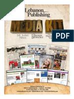 Lebanon Publishing Media Kit 2014