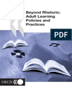 Adult Learning. Policies and Practice