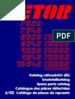 dílenská příručka zetor 7245 pdf