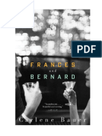 Frances and Bernard by Carlene Bauer -- Discussion Questions