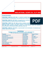 4378 Industrial Gear Oil Clp 460