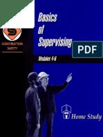 Basics of Supervising, Home-study Training Program, Modu (1)