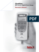 Dfe Series Digital Force Gauge User Manual (1)