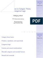 Crash Course Category Theory