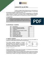 Lab 04 Fisica II Ley de Ohm