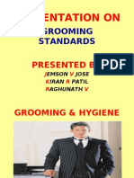 grooming standards for gentlemen in hospitality