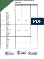 Cronograma - Distribu - Materiales 2014