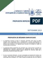 Propuesta Reforma Hacendaria Para Repecos Incluye Informales Septiembre 2013