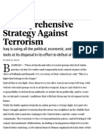 A Comprehensive Strategy Against Terrorism