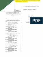 El Rodeo Lawsuit (Redacted)