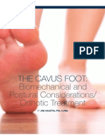 Cep Cavus Foot