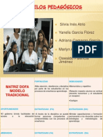 MATRIZ DOFA MODELOS PEDAGÓGICOS (Yanelis García)