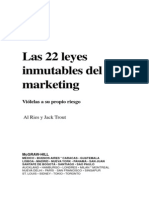 Las 22 leyes inmutables del marketing – Al Ries and Jack Trout