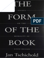 The Form of the Book_ Essays on the Mora - Jan Tschichold