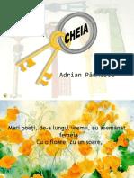 Cheia - Adrian Paunescu