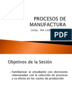 2. Procesos de Manufactura