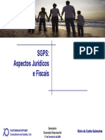 Sgps Regime Fiscal
