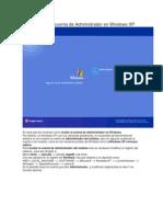 Como Ocultar La Cuenta de Administrador en Windows XP