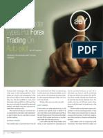 Advanced Order Types Put Forex Trading Autopilot