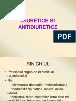 Diuretice Si Antidiuretice