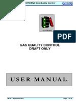 Gas Quality Control