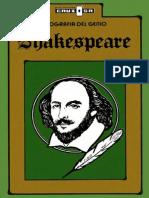 Shakespeare, Biografia Del Genio - Publicaciones Cruz O. S. A