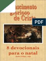 [eBook] O Nascimento Glorioso de Cristo Devocionais