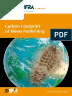 WAN IFRA Carbon Footprint News Publishing