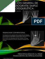 Evaluación general de  una radiografía simple musculoesquelética