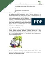 Aplicacion en Cafe Naturabono