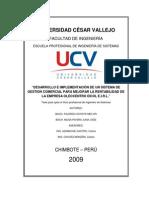 Tesis Desarrollo e Implementacion de Un Sistema de Gestion Comercial Para Mejorar La Rentabilidad de La Empresa