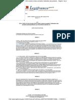 FRANCIA PROHÍBE LOS PLAGUICIDAS PARTICULARES Y PÚBLICOS. Ley nº 2014-110 de 6 de febrero de 2014