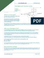 How a Darlington Pair Transistor Works