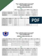 Horário 2014 - com alterações