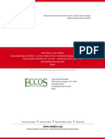 A educação básica no Brasil - o ensino médio em foco_ itinerários de pesquisa na década de noventa
