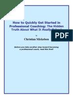 Start Coaching Book