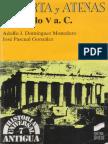 Adolfo J. Domínguez Monedero. José Pascual Gonzáles, Esparta y Atenas en el siglo V a.C