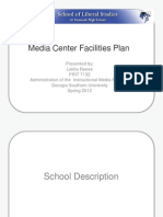 SHS Media Center Facility Use Plan