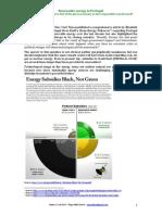 Renewable Energy - Portugal